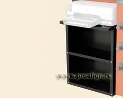 Полка принтера для балансировочных стендов Hunter 20-2714-1