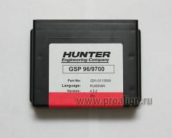 Программный картридж для балансировочных стендов 1-2 поколений Hunter G01-01100LL-1