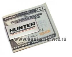 Зажим для денег с логотипом Hunter Engineering MONEY-CLIP